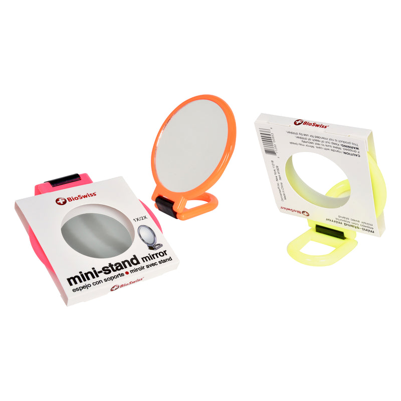 2x Magnification Mini Stand Mirror