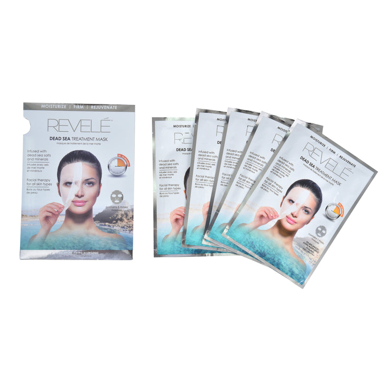 Pack of 5 Dead Sea Face Masks