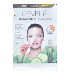 Pack of 5 Aloe Cucumber Face Masks
