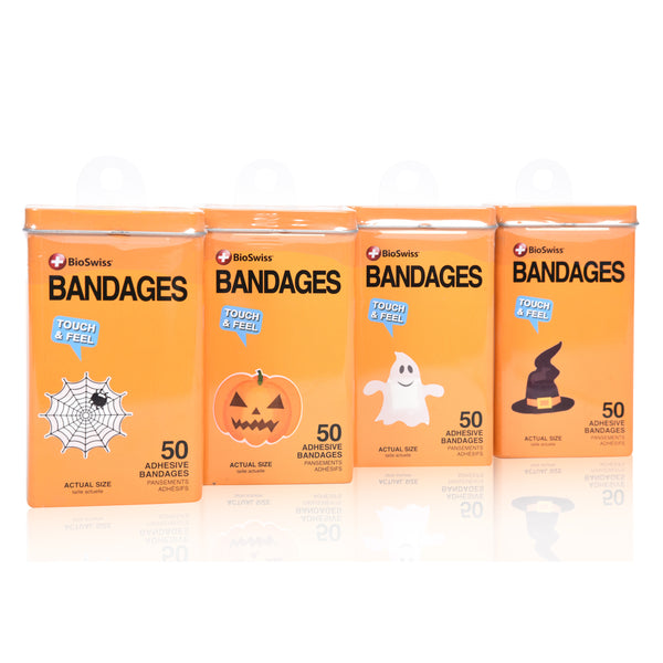 Halloween Shaped Bandages In Tin