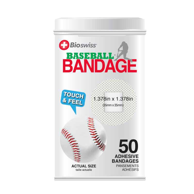 Novelty Assorted Ball Bandages in Tin