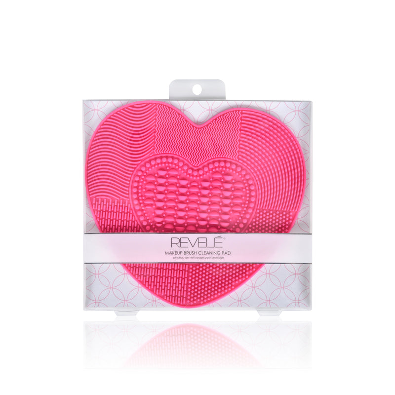 Large Heart Shaped Makeup Brush Cleaning Mat