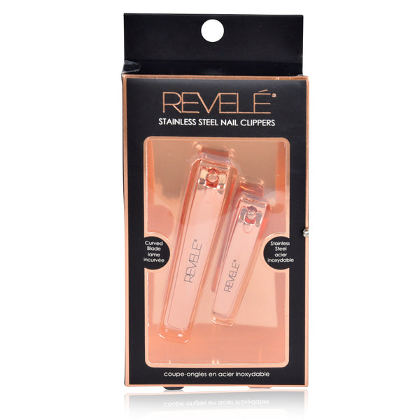 Set of 2 Rose Gold Nail Clippers