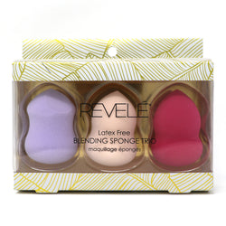 PACK OF 3 BLENDING SPONGES - LATEX FREE