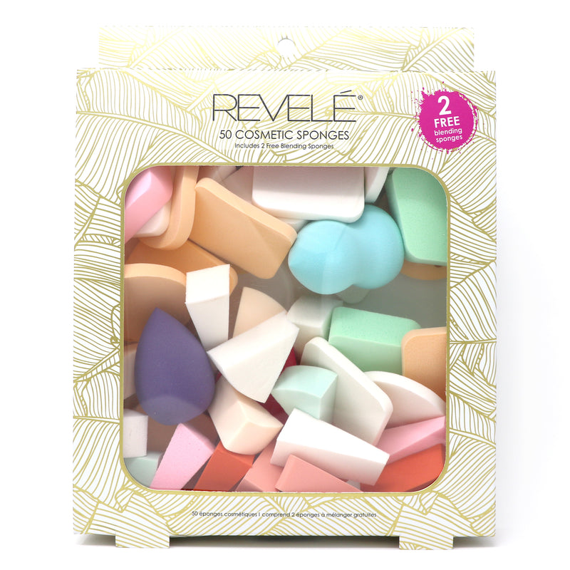 Pack of 50 Cosmetic Sponges