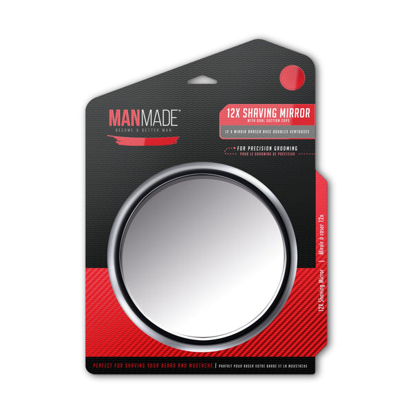 12x Magnification Shaving Mirror