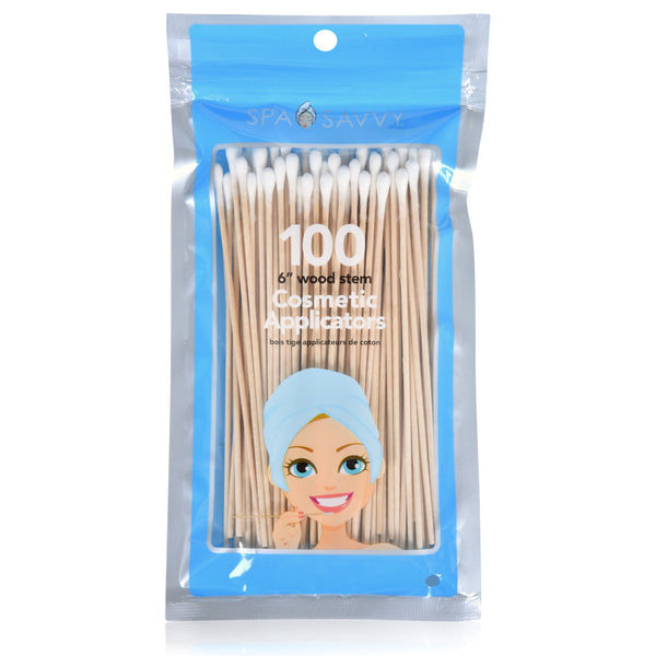 "100 6"" Wood Stem Cosmetic Applications"
