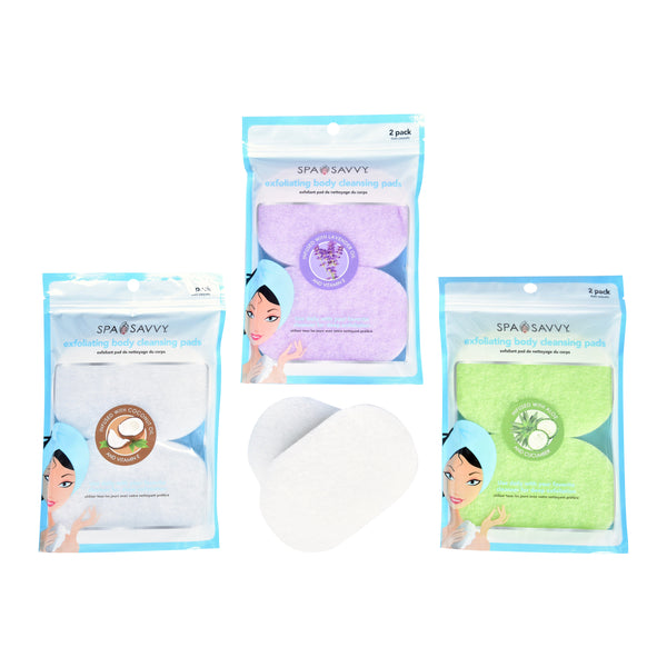 Pack of 2 Essential Oil Infused Body Cleansing Pads