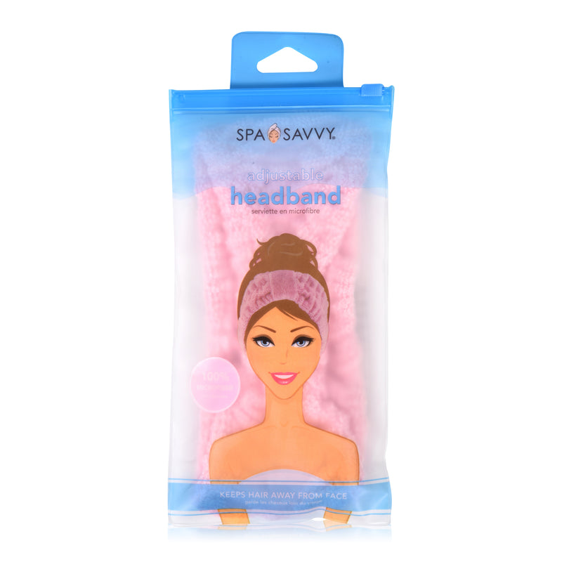 Soft Adjustable Headband