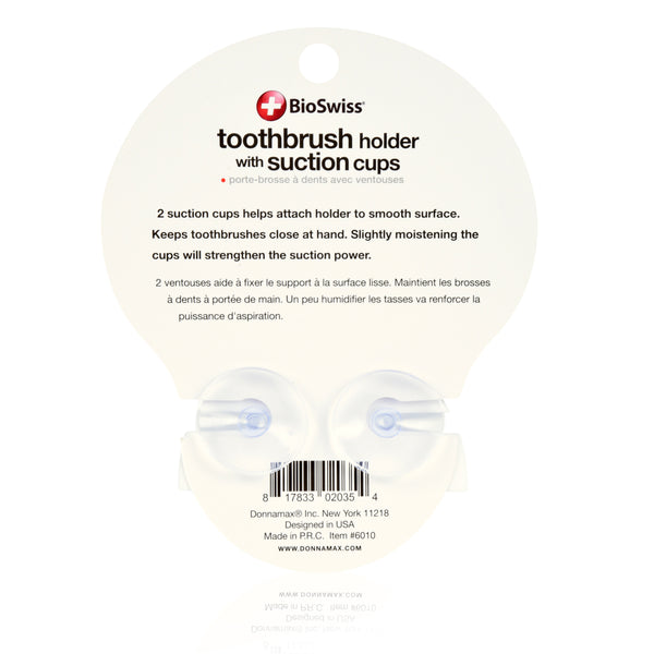 Toothbrush Holder with Suction Cup