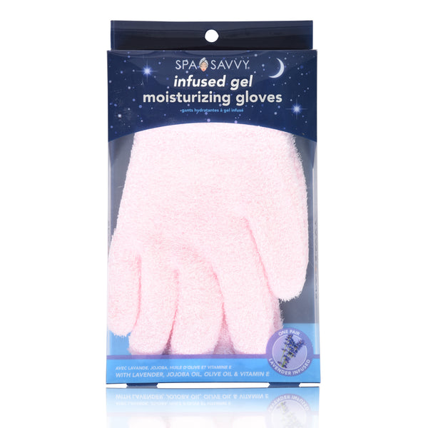 Lavender Infused Gel Moisturizing Gloves