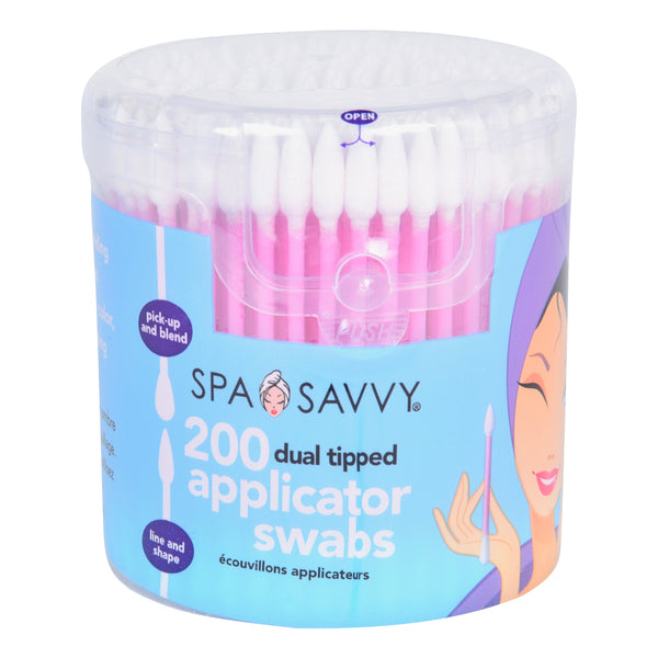 Spa Savvy Tapered Tip Beauty Swabs