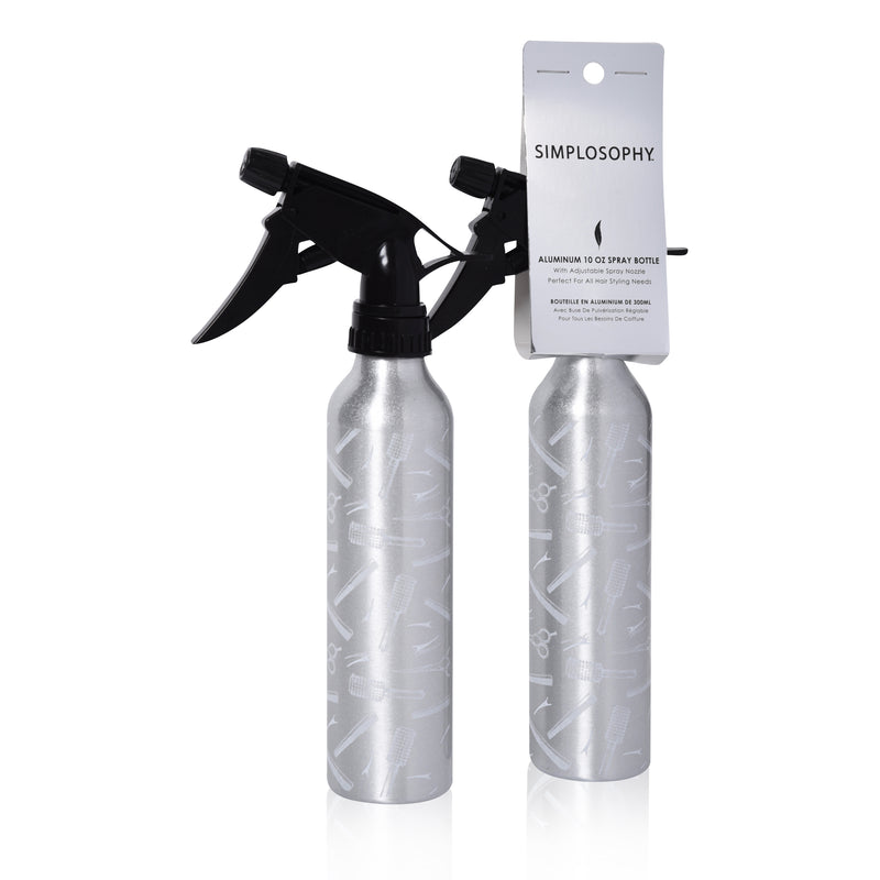 Aluminum Spray Bottle 10 oz