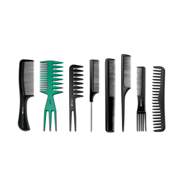 Man Made Set of 8 Styling Combs