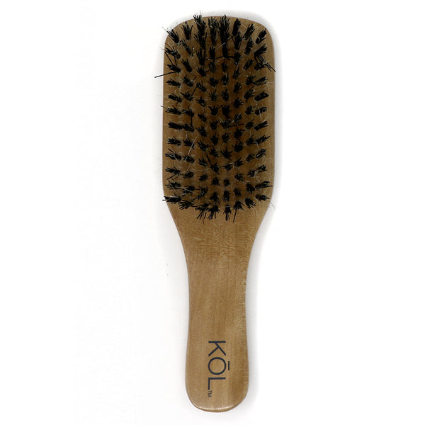 Boar Bristle Wood Brush