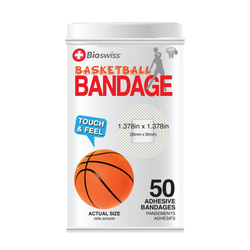 Basketball Bandages - 50 Count Tin