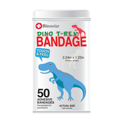 Dino Bandages - 50 Count Tin