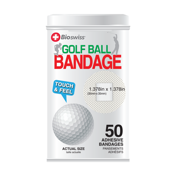 Golf Bandages - 50 Count Tin
