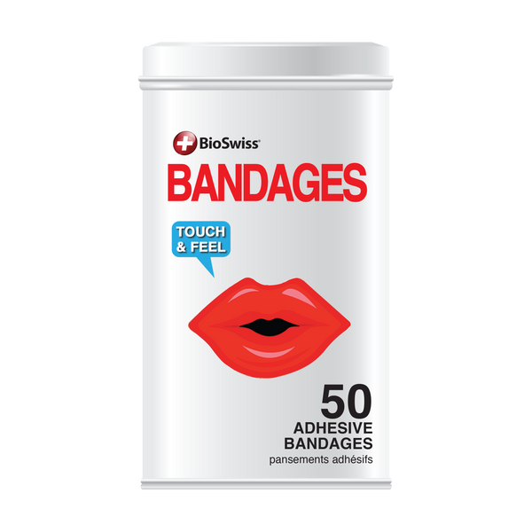 Lip Bandages - 50 Count Tin