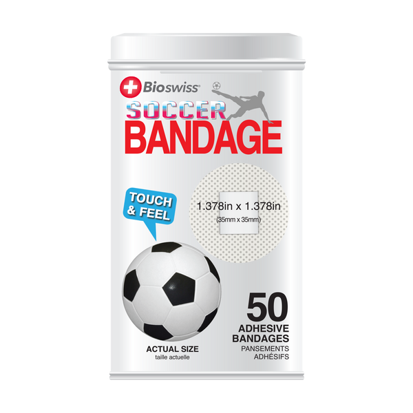 Soccer Bandages - 50 Count Tin