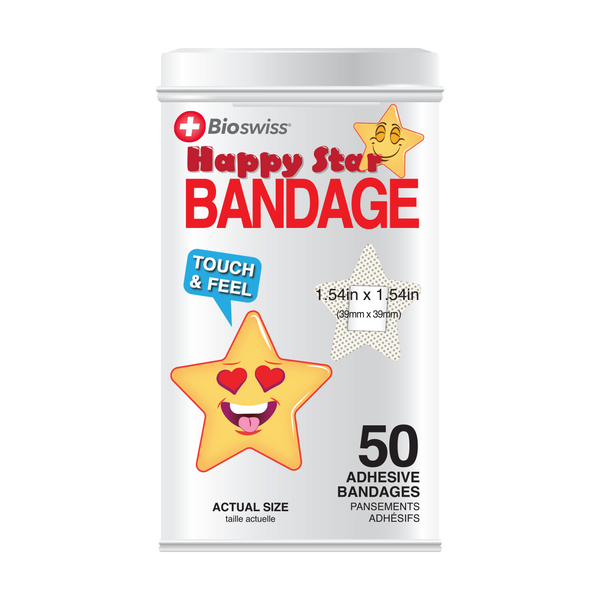 Star Bandages - 50 Count Tin