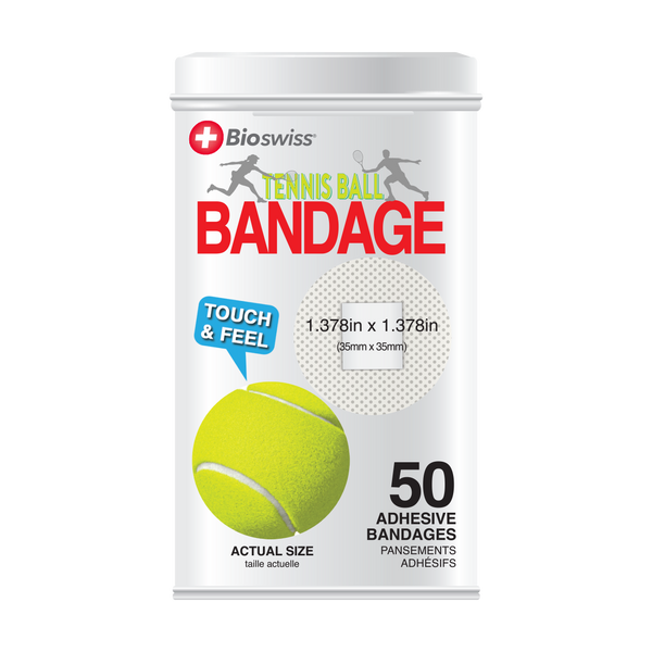 Tennis Bandages - 50 Count Tin