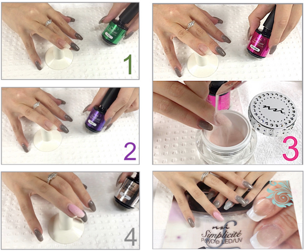 Acrylic/Gel Dipping System - Step by Step