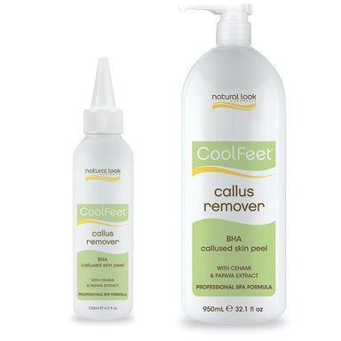 Callus Remover ~ Cool Feet ~ Natural Look
