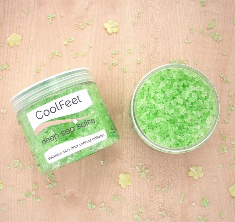 Deep Sea Salts ~ Cool Feet ~ Natural Look