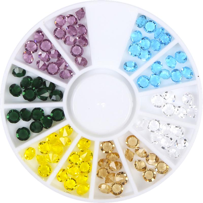 Diamond Nail Art Decoration Rhinestones Wheel W8043