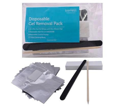 Gel Removal Pack - Foil, File & Buffer