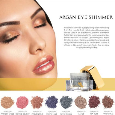 Eye Shimmers ~ Argan mineral powders