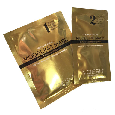 Facial Mask - 24 Karat Gold Collagen Voesh1 Pack
