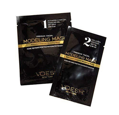 Facial Mask Charcoal Collagen Voesh1 Pack