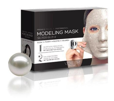 Facial Mask Pearl Silver Collagen Voesh10 Packs