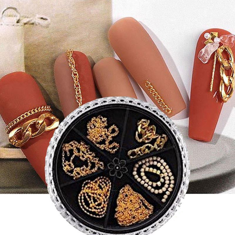 Nail Art Chains Decoration Wheel SP0399