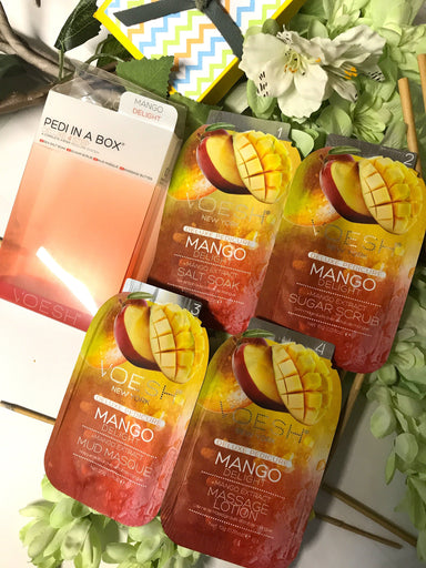 Pedi-in-a-Box Mango Delight - Voesh
