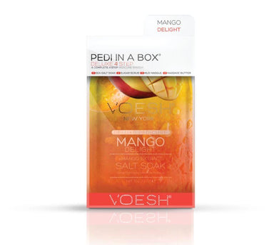 Voesh 4 Step Pedi-in-a-Box Mango Delight