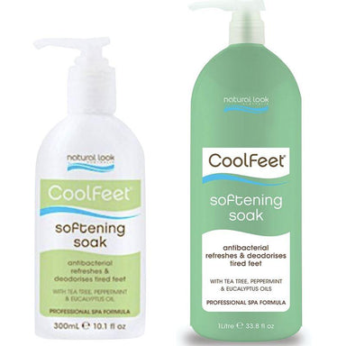 Softening Soak ~ Cool Feet ~ Natural Look