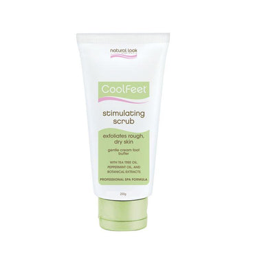 Stimulating Scrub ~ Cool Feet ~ Natural Look200g