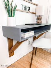 Load image into Gallery viewer, Kids Farmhouse Corbel Desk
