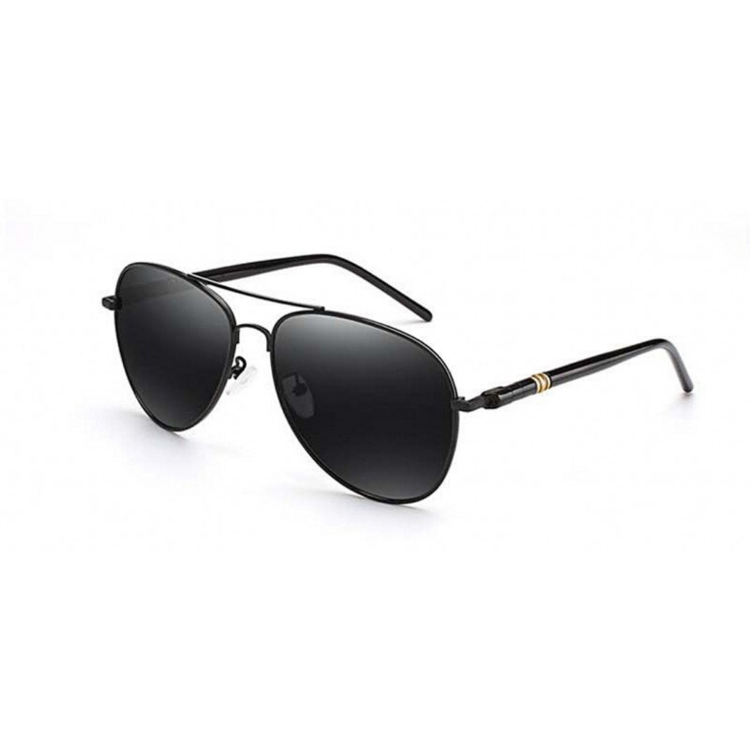 Aviator Polarized Sunglasses Black