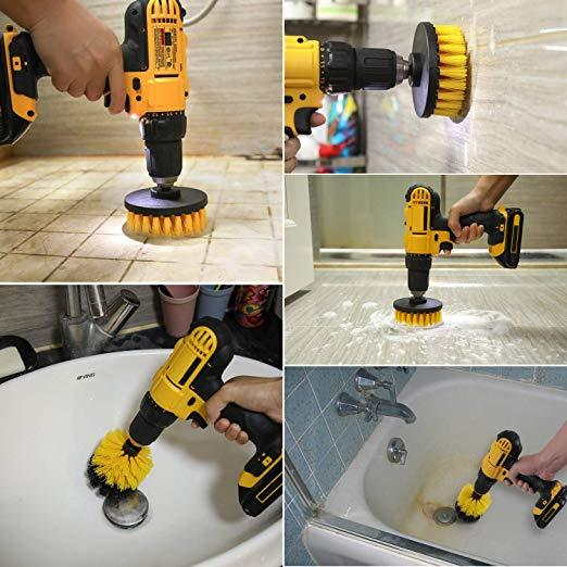 All Purpose Power Scrubber Drill Bit Cleaning Kit