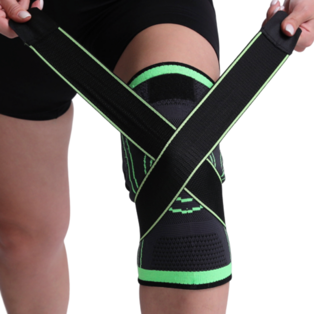 Best Knee Brace Compression Sleeve Support Immobilizer Strap Wrap