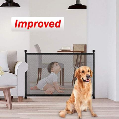 Indoor Pet Mesh Gate