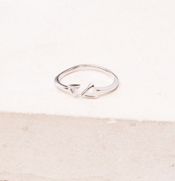 Reed-Silver Triangle Ring