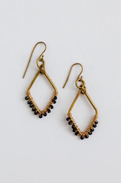 Maasai Diamond Earrings