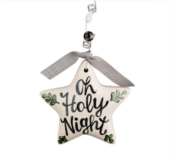 O Holy Night Puff Star Onament