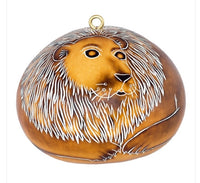 Peruvian Gourd Ornaments-African animals