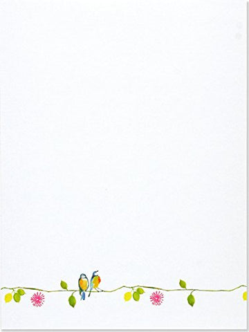 Watercolor Birds Stationery Set (Boxed Stationery)